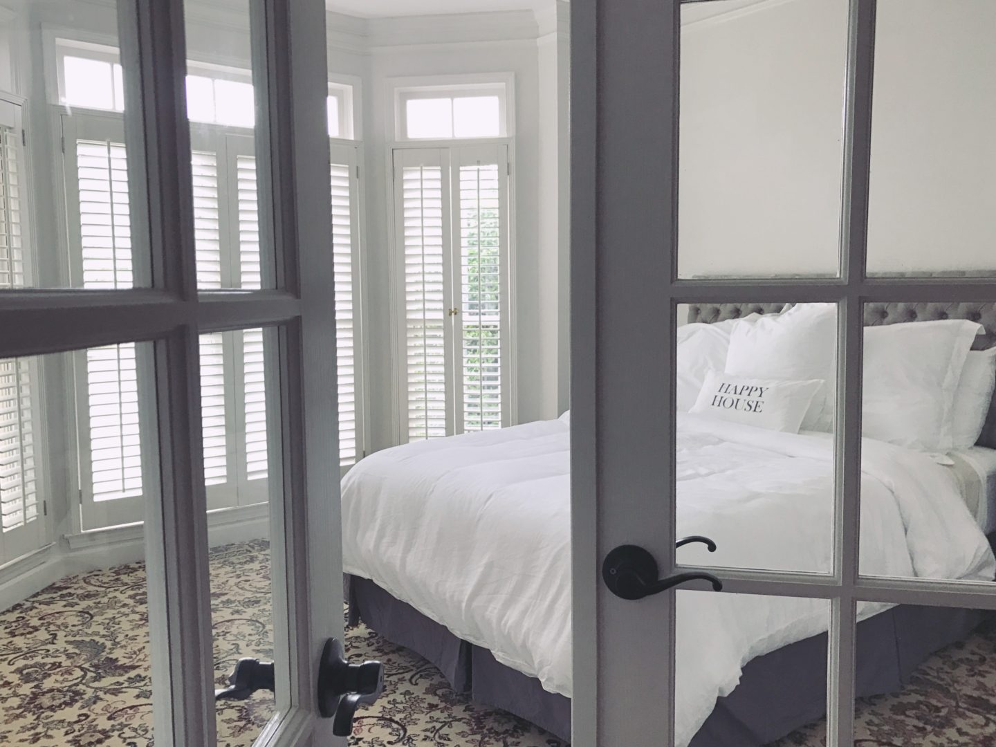 French Door + Transom Installation With Home Depot