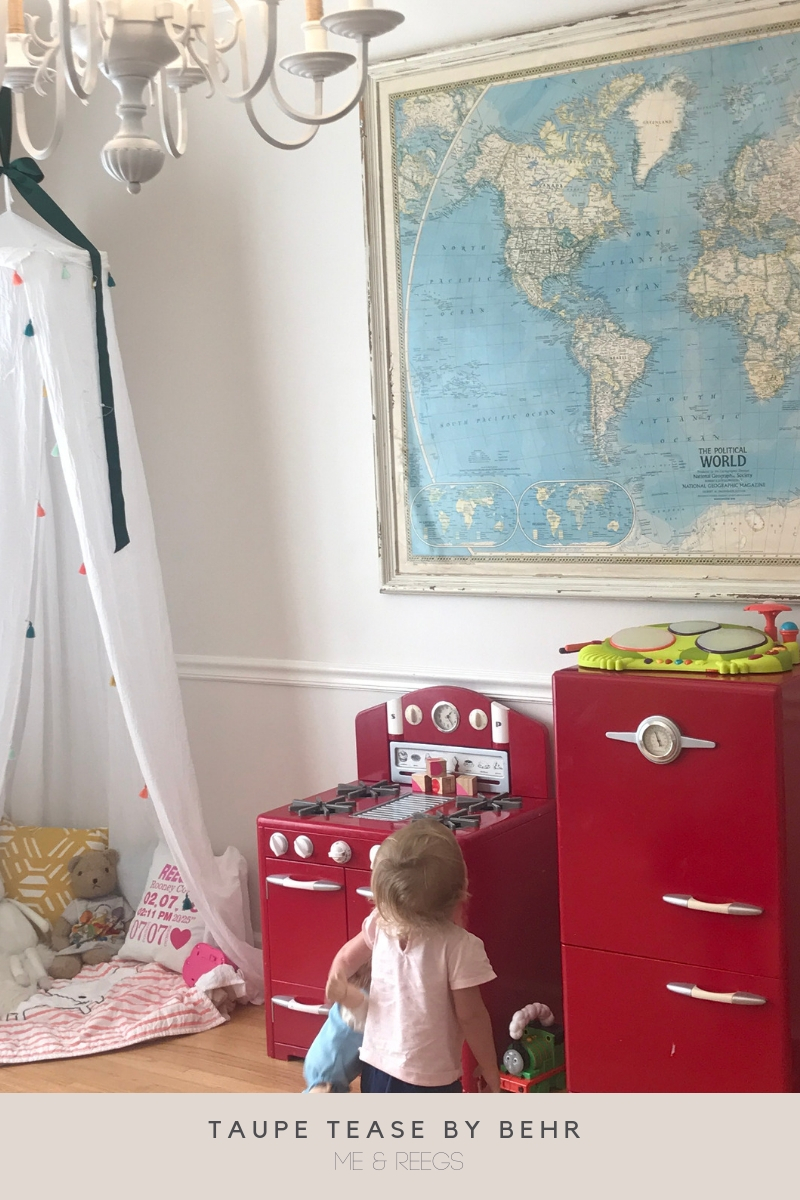 Taupe-Tease-Behr-Neutral-Playroom-Paint-Color Our Favorite Neutral Paint Colors | Master List